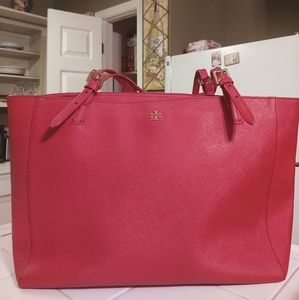 Authentic Tory Burch Emerson Tote LG